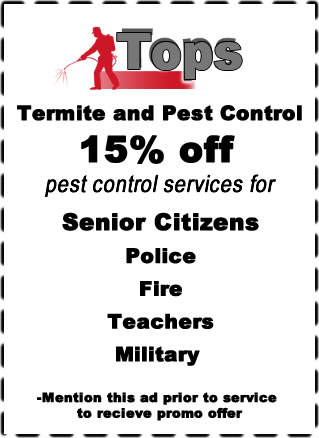 Termite and Pest Control  in Fort Worth, Texas / www.topspestconrol.com