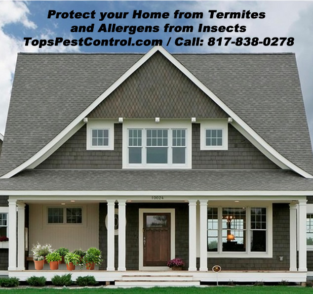Residential Pest Control, Colleyville, Fort Worth, Saginaw and surrounding areas / www.topspestcontrol.com